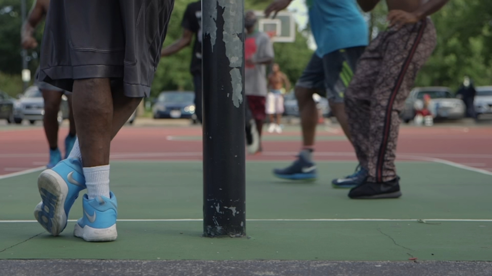 Ballin' on the South Side: Streetball at Chicago's legendary blacktop basketball courts
