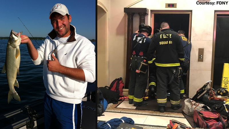 Funeral for man crushed when elevator dropped in Manhattan