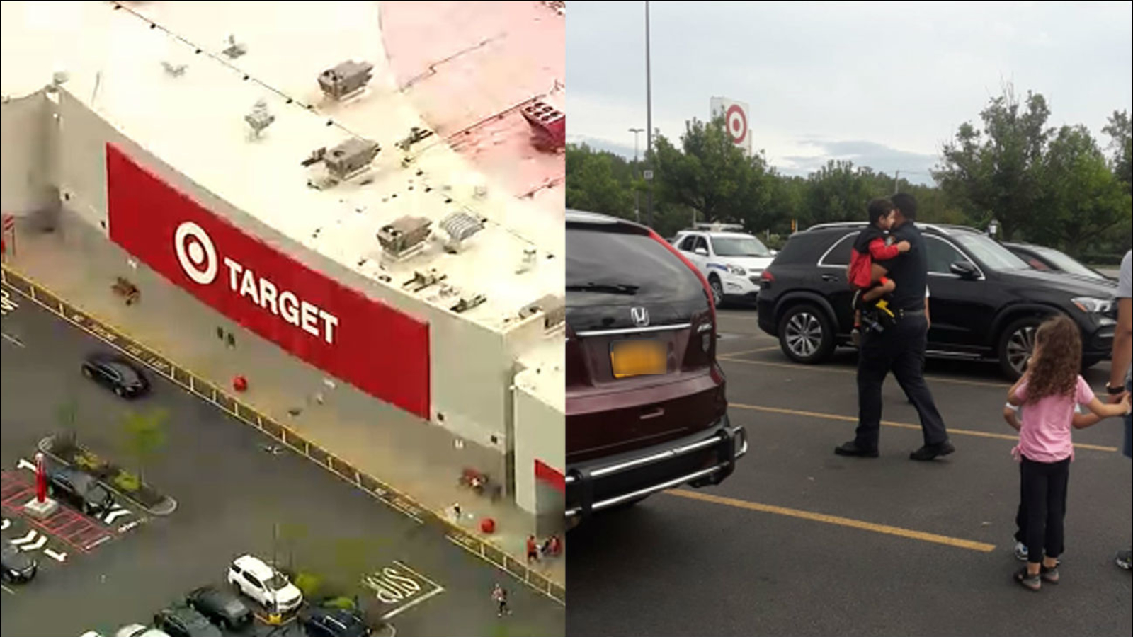 Mom charged after boy found alone, crying in car parked at Target in Queens