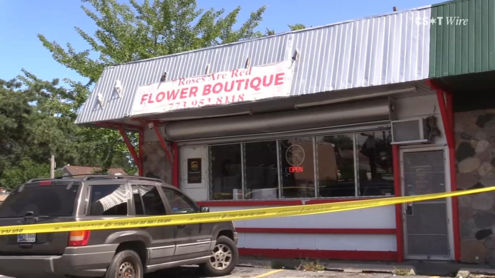 Brainerd neighborhood flower shop manager struck by stray bullet