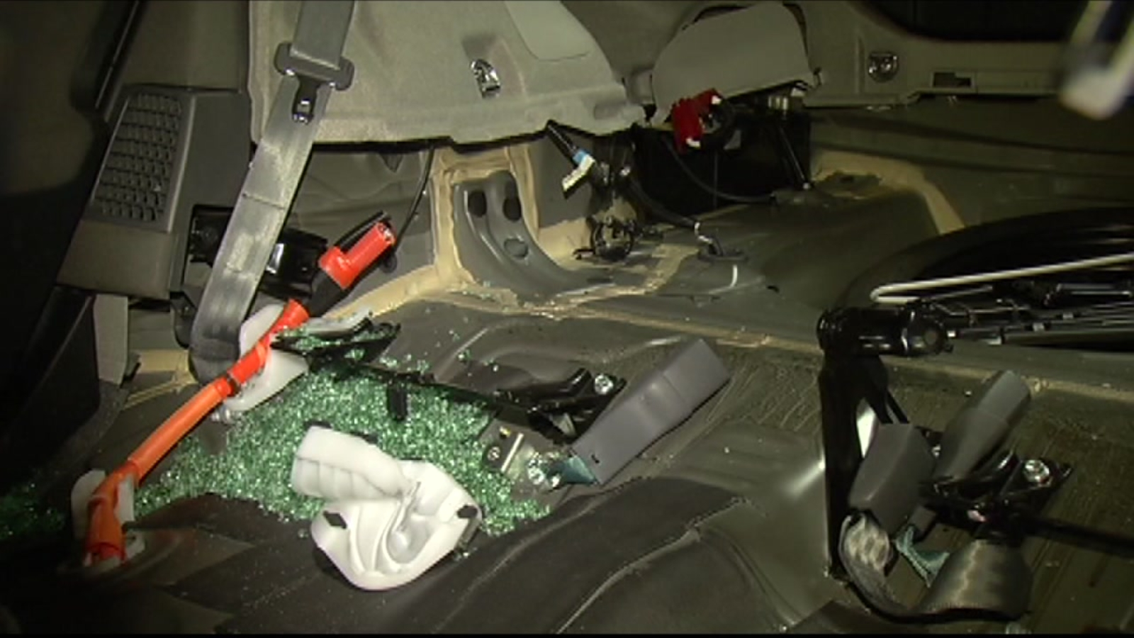 San Francisco woman returns to Prius to find car disassembled, battery stolen