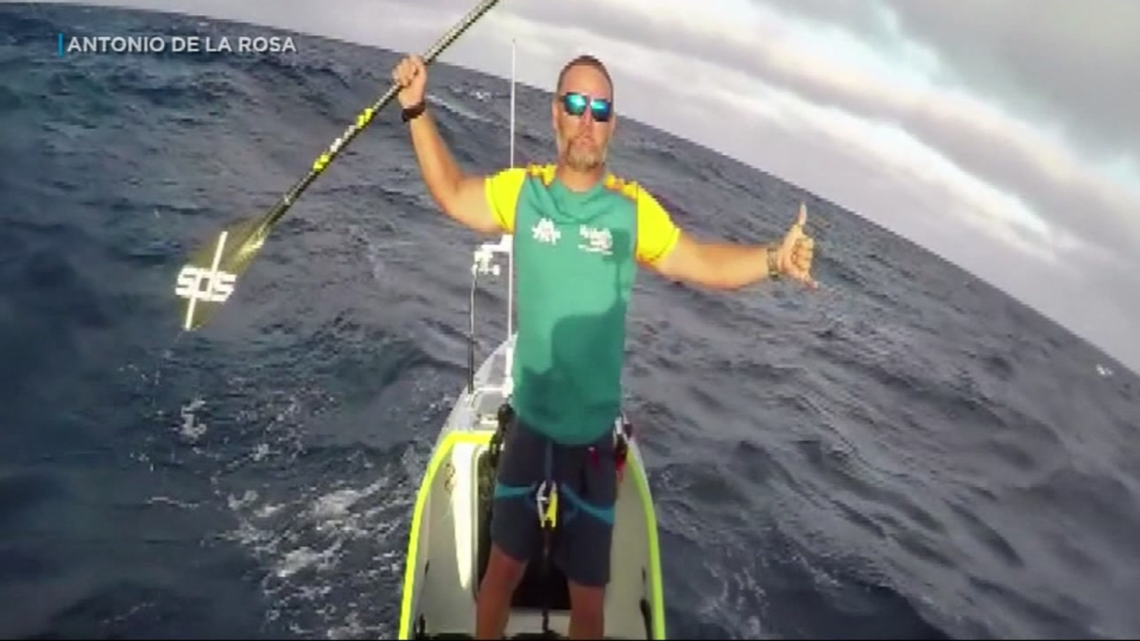 Man paddleboards from San Francisco to Hawaii in 76 days