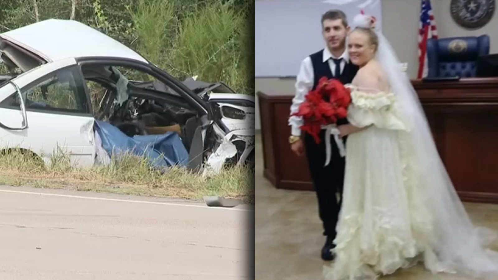 Texas Leaving Courthouse After Getting Married Killed In Crash