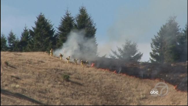 Brush fire | abc7news com