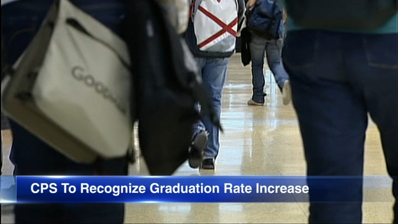 Mayor, CPS to celebrate record-high graduation increase