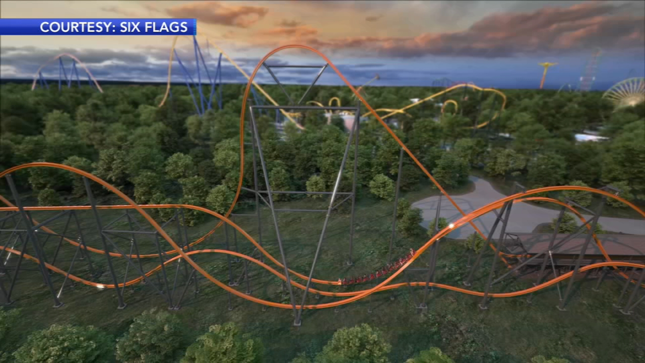 Six Flags Great Adventure To Unveil Jersey Devil Coaster In 2020 Abc7 San Francisco