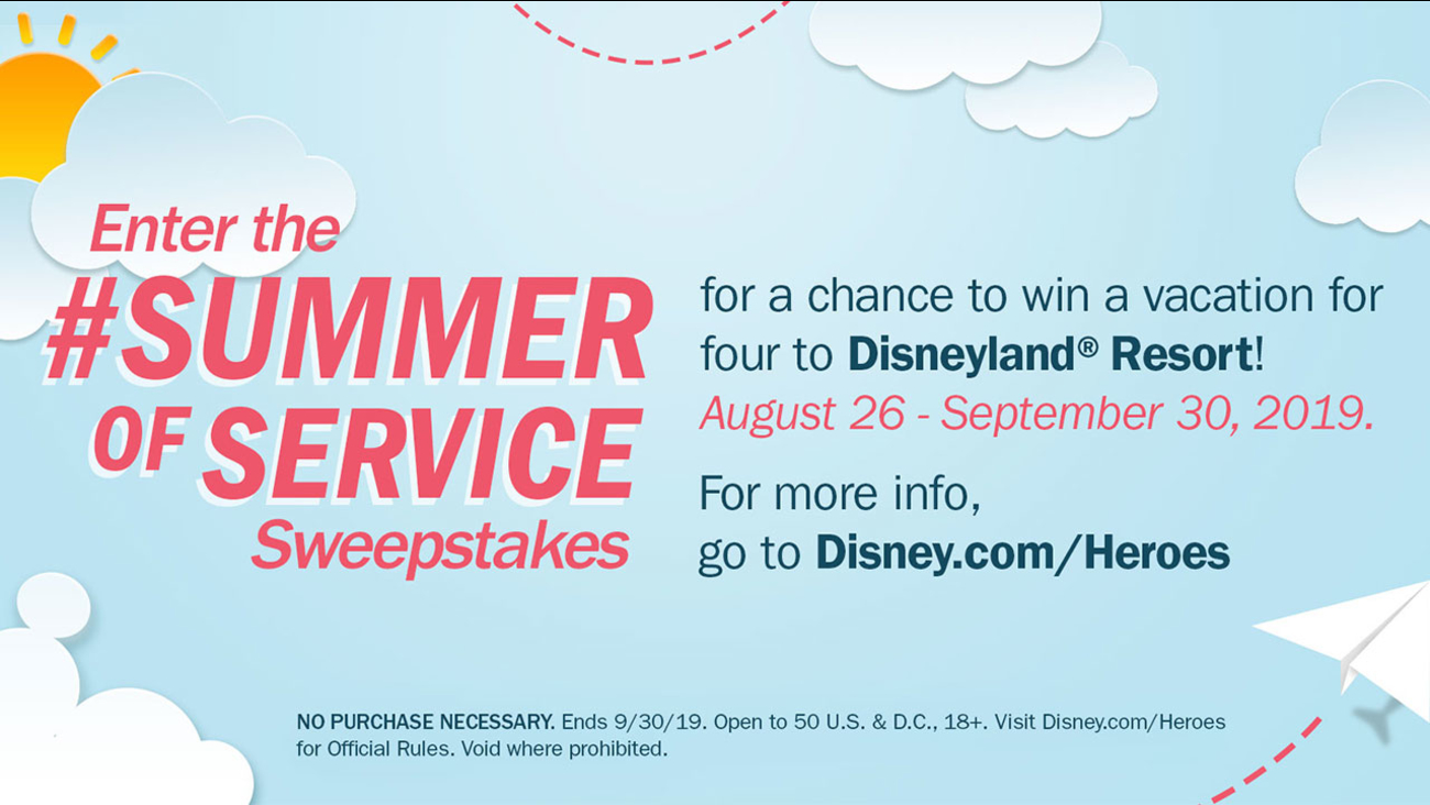 Summer of Service sweepstakes: Enter to win a trip to