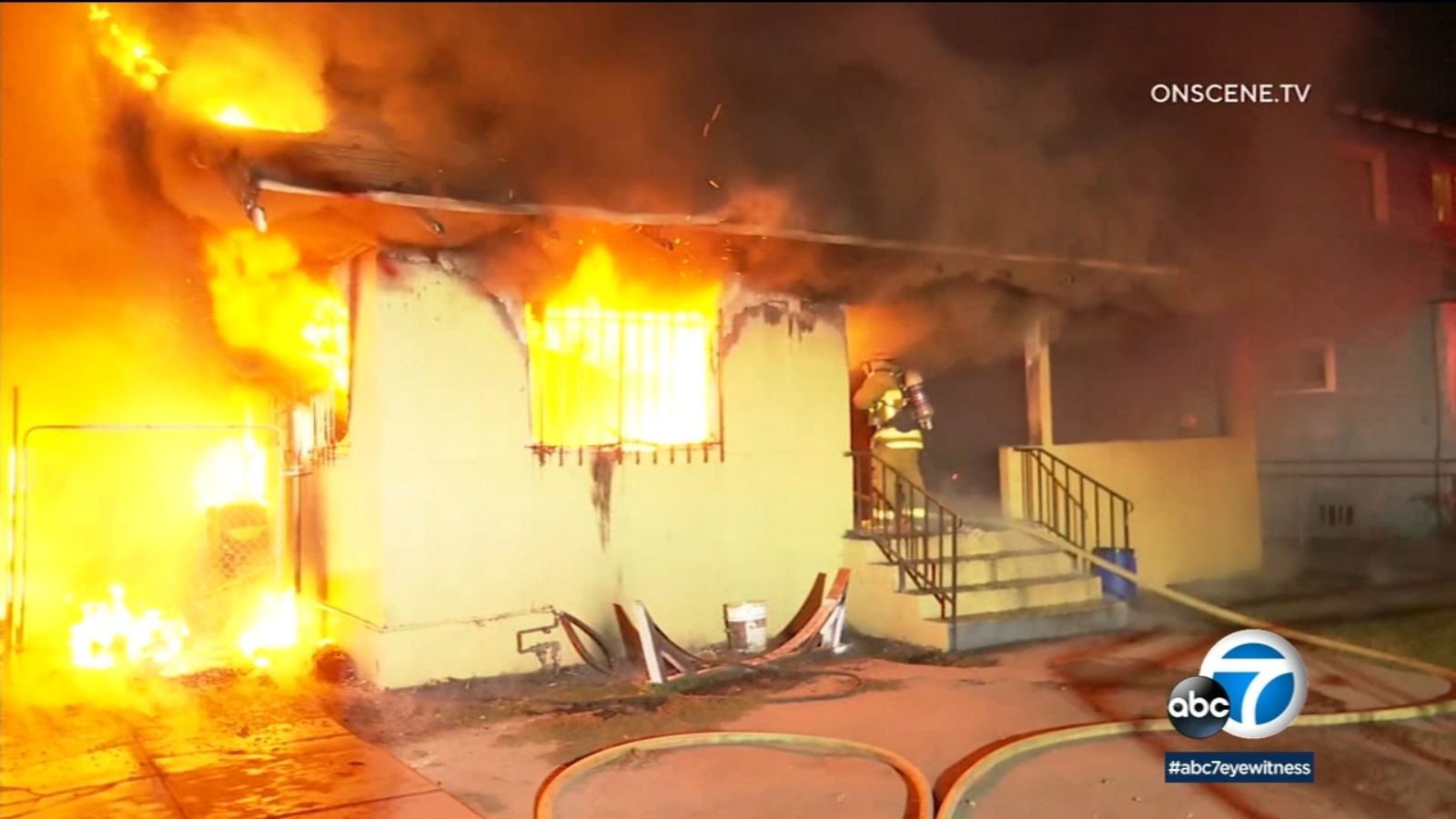 Murder suspect arrested in Exposition Park boarding house fire that left 2 residents dead