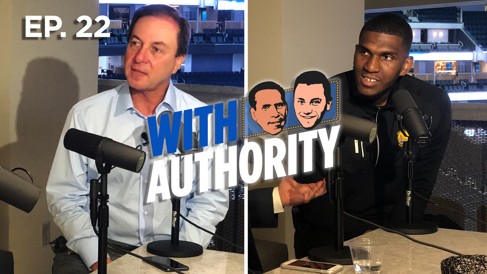 With Authority: One-on-one with Joe Lacob and Kevon Looney of the Warriors
