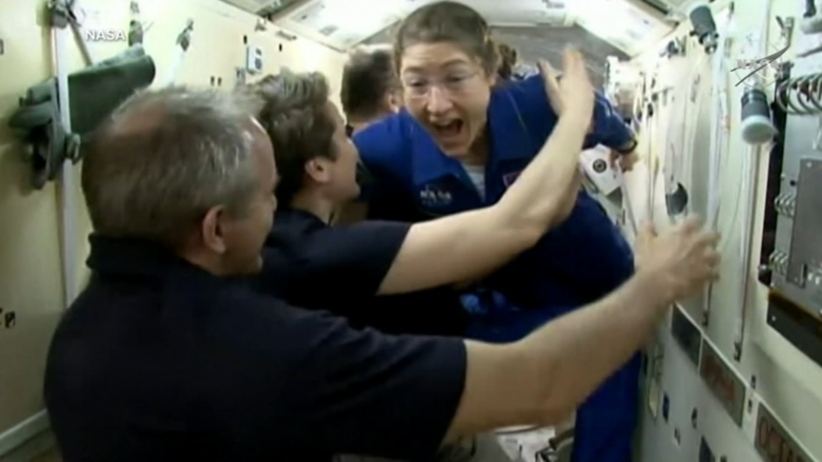 Live from space: NC State graduate Christina Koch speaks to Durham students