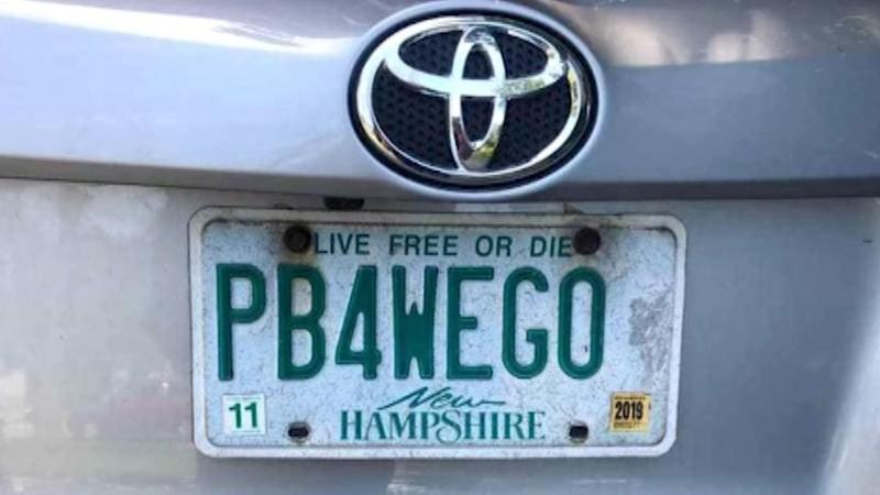 PB4WEGO: New Hampshire mom fights DMV to keep vanity license plate