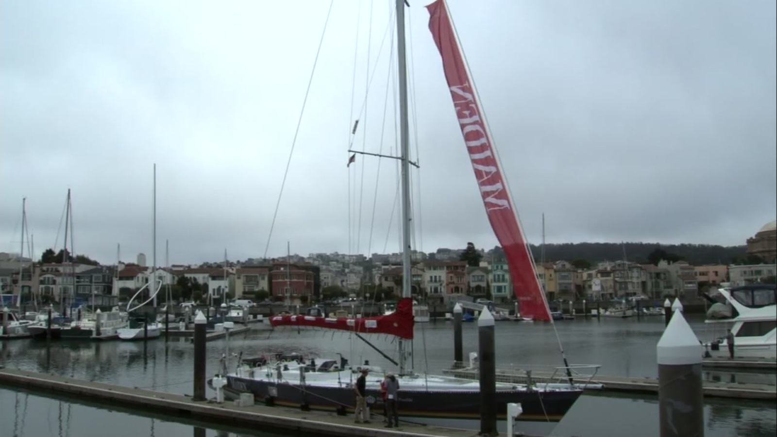 All female crew sailing around the world makes stop in San Francisco