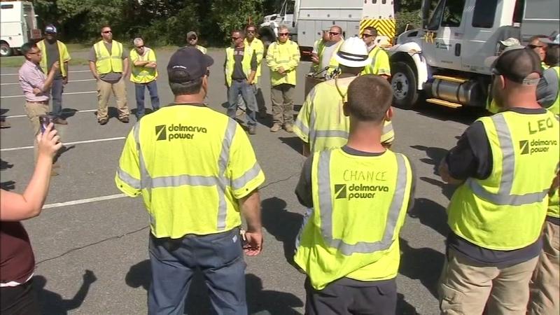 Energy crews heading down to Florida ahead of Hurricane Dorian