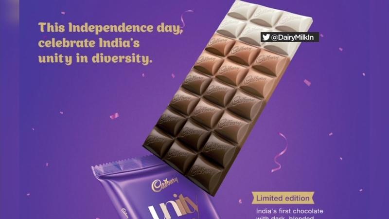 Cadbury criticized for multi-colored chocolate bar
