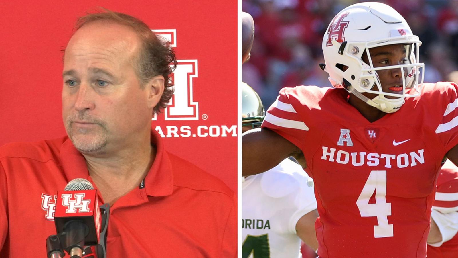 University of Houston falls to Oklahoma Sooners 49 - 31 in season debut - KTRK-TV