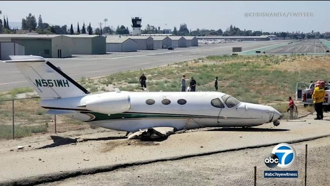 Plane crash   abc7 com