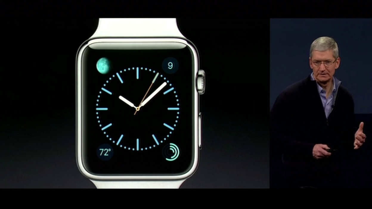 "<div class=""meta image-caption""><div class=""origin-logo origin-image kgo""><span>KGO</span></div><span class=""caption-text"">The Apple watch at the Apple Watch event in San Francisco on Monday, March 9, 2015. (KGO)</span></div>"