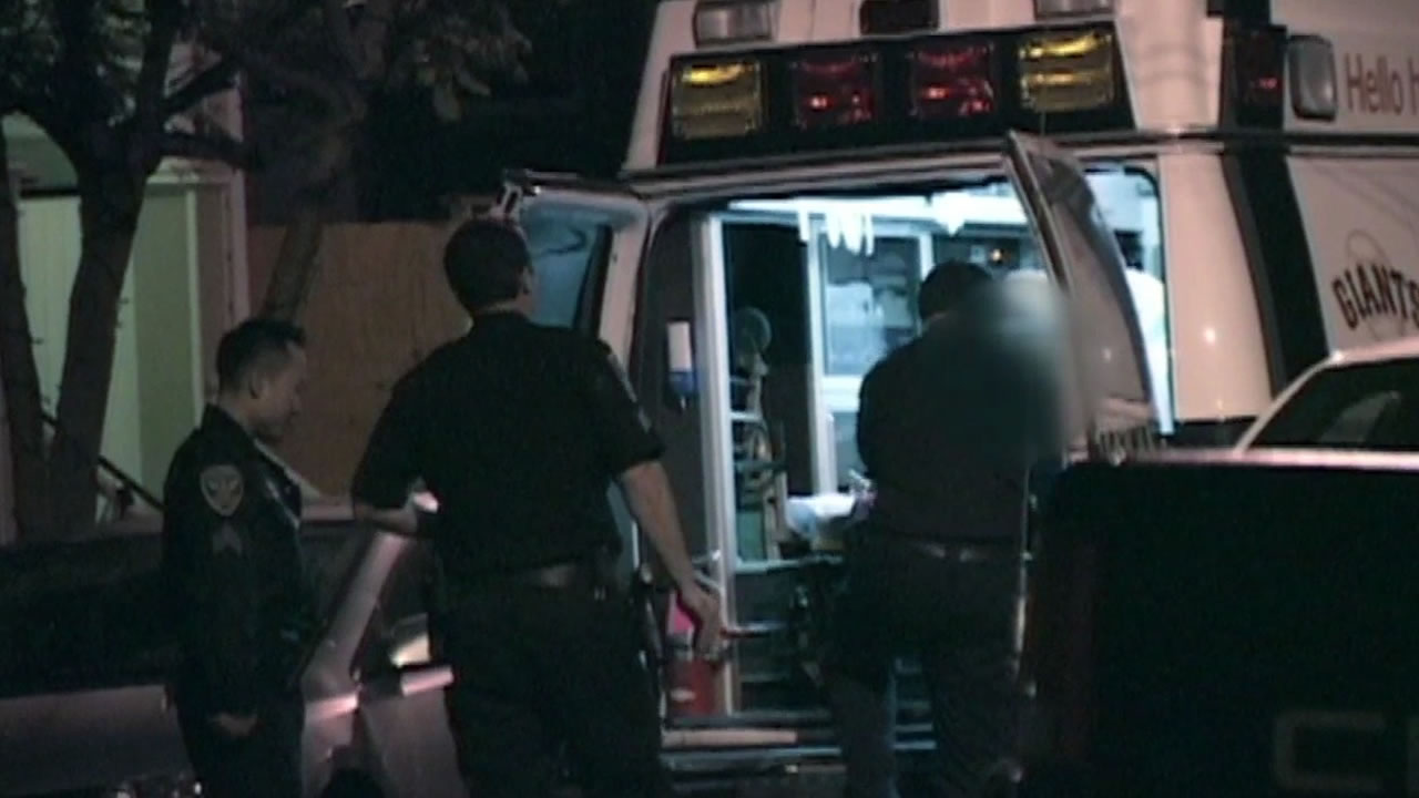 Emergency crews arrive at home in San Francisco's Noe Valley after burglary at a home