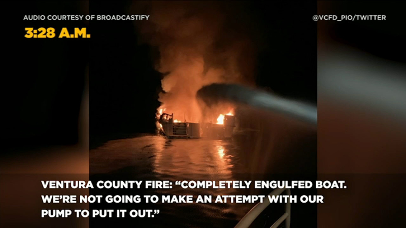 Ventura County coast boat fire: A timeline of events