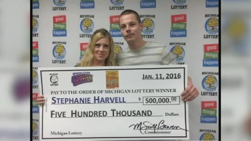 Lottery winners charged in burglaries