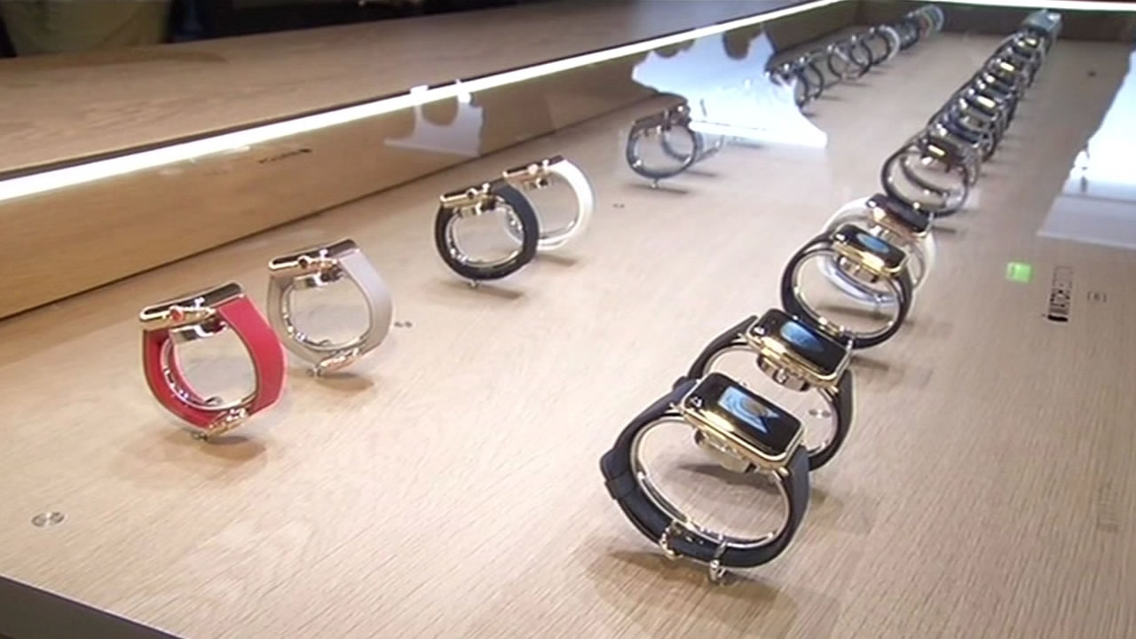 The new Apple Watch was unveiled during an event in San Francisco on Monday, March 9, 2015.