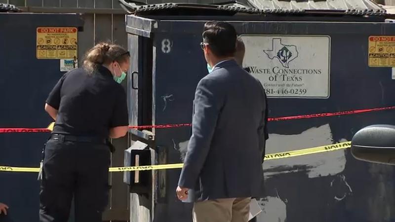 Body found in dumpster in northwest Houston