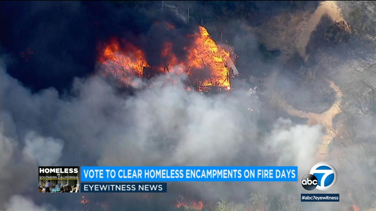Brush fire | abc7 com