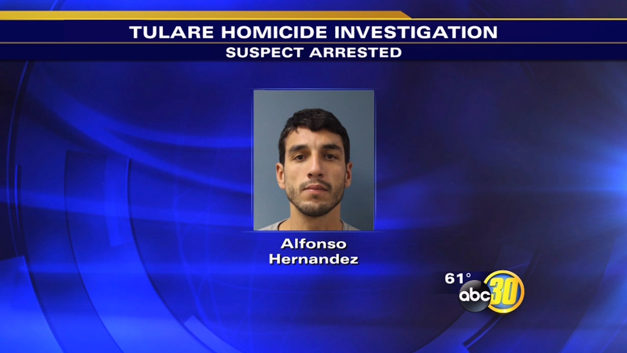 Man arrested in Tulare's first homicide of 2015