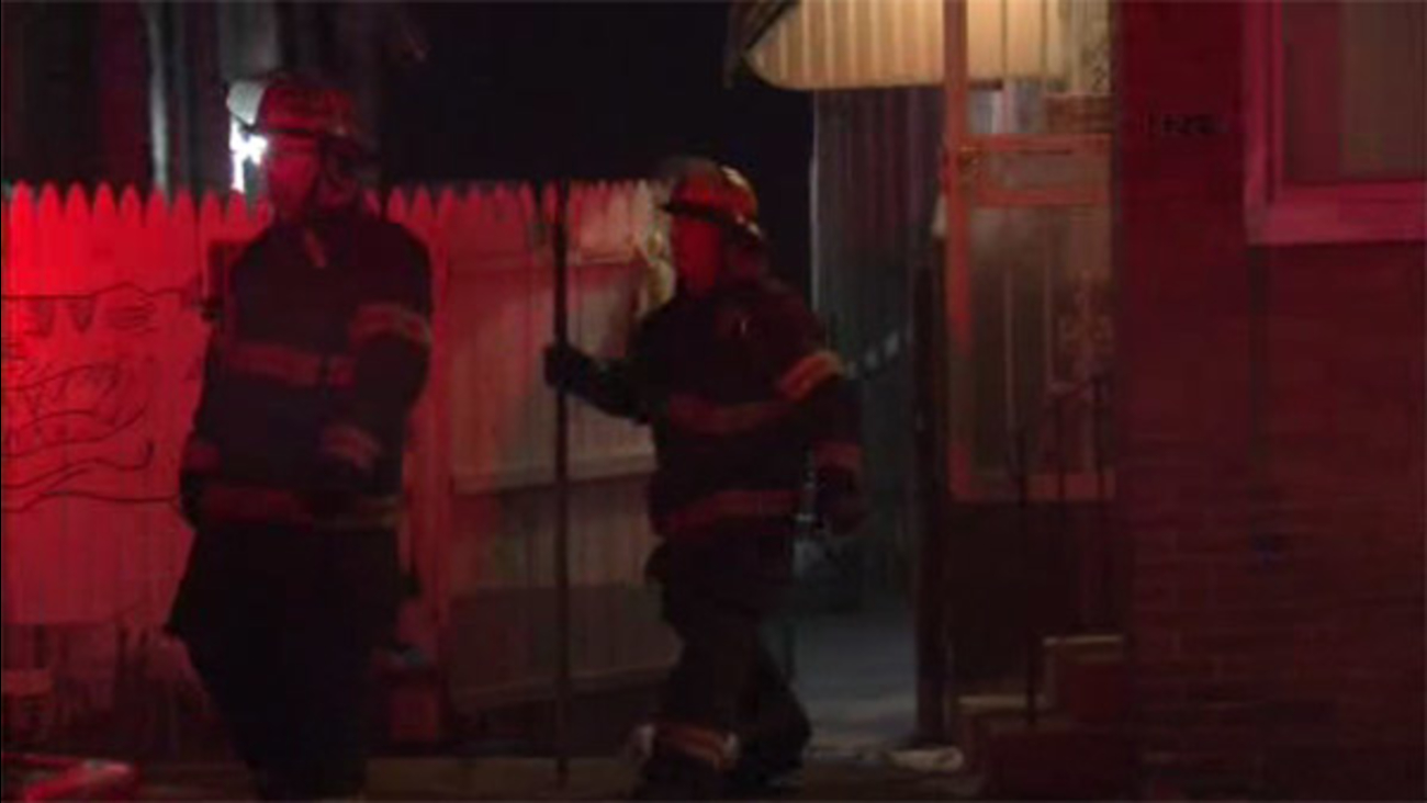 Trash in basement causes house blaze in Frankford
