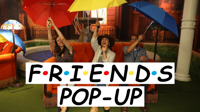 New 'Friends' pop-up called