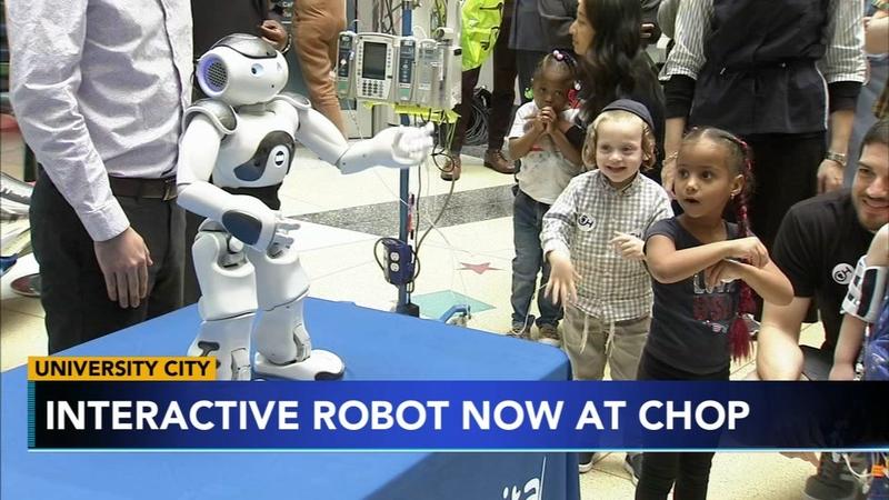 Interactive robot joins CHOP staff