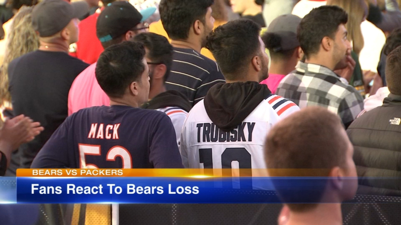 Chicago Bears Lose To Green Bay Packers 10 3 In First Game Nfl S 100th Season On Thursday Night Football At Soldier Field Abc7 Chicago