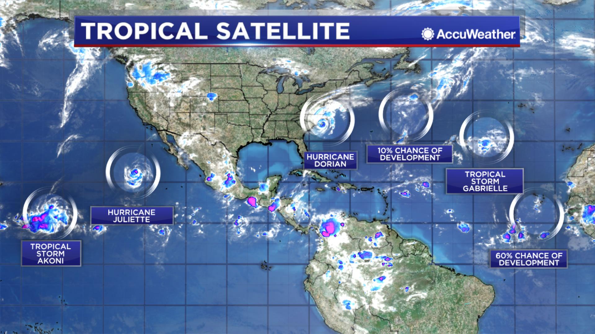 Hurricane Dorian makes landfall over North Carolina's Outer Banks