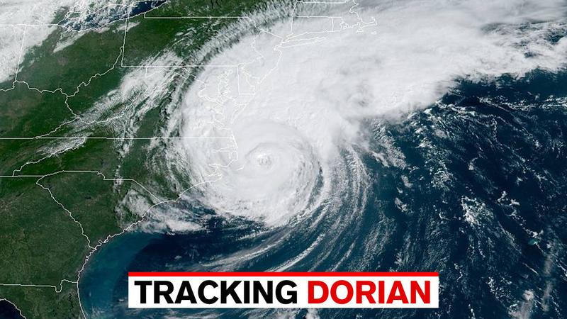 Hurricane Dorian makes landfall in North Carolina