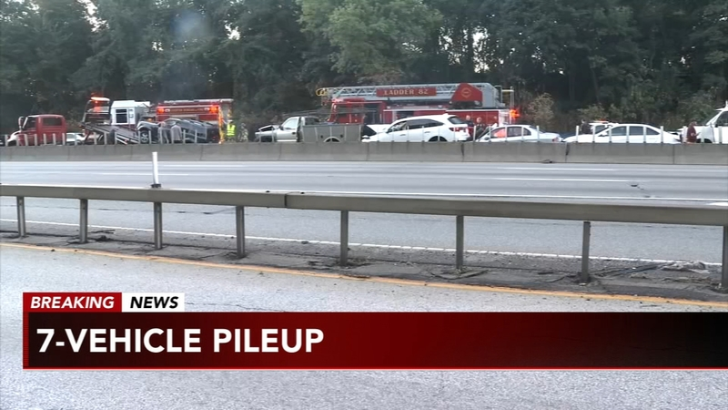 4 injured in 7-vehicle pileup on I-95 in Chester