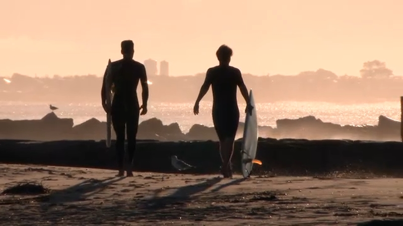 Nyc Beaches Close Becoming Law Breaking Surfers Paradise