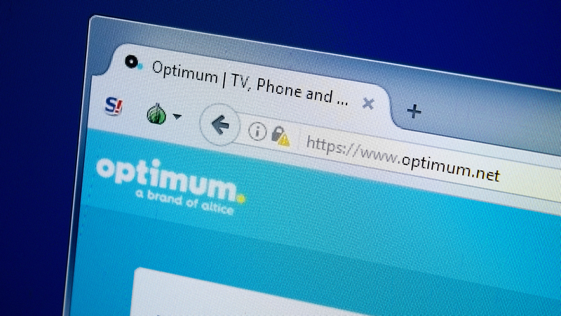 Optimum restores service to some customers following outages