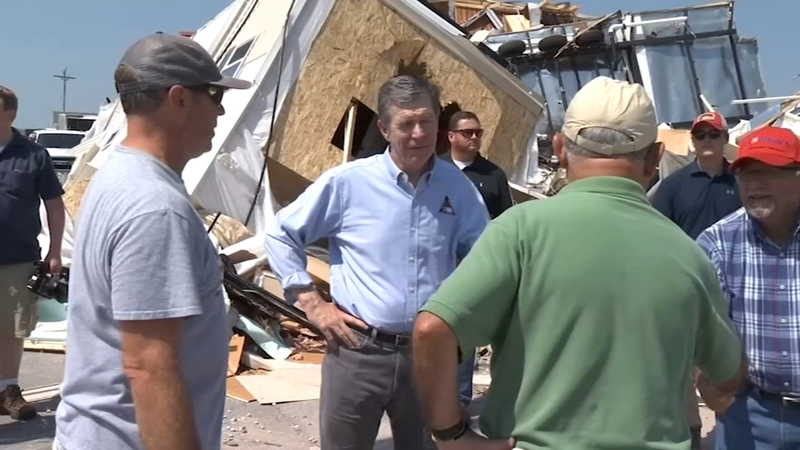 Governor Cooper tours Ocracoke, meets with Dorian survivors