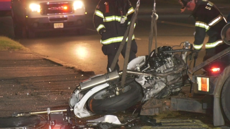 Motorcyclist killed in crash in Stratford, New Jersey