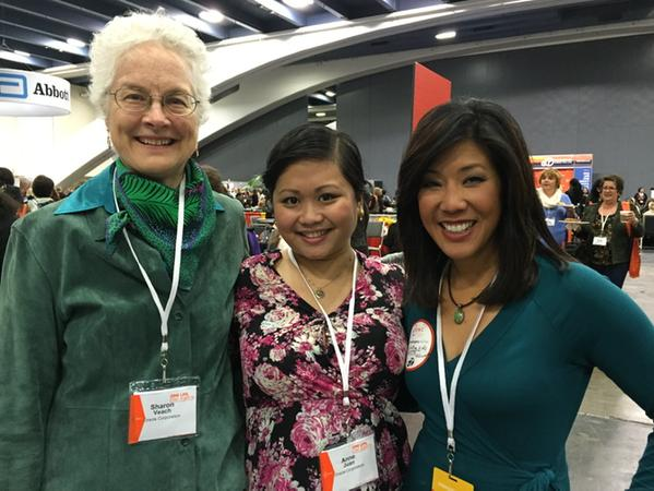 "<div class=""meta image-caption""><div class=""origin-logo origin-image kgo""><span>KGO</span></div><span class=""caption-text"">With the ladies from @oracle representing at @pbwc this am in #SF! Stop by @abc7newsbayarea booth!!  (ABC7 News/Kristen Sze)</span></div>"