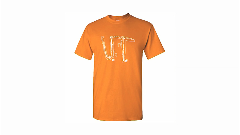 Boy bullied for homemade Tennessee shirt has logo become official design