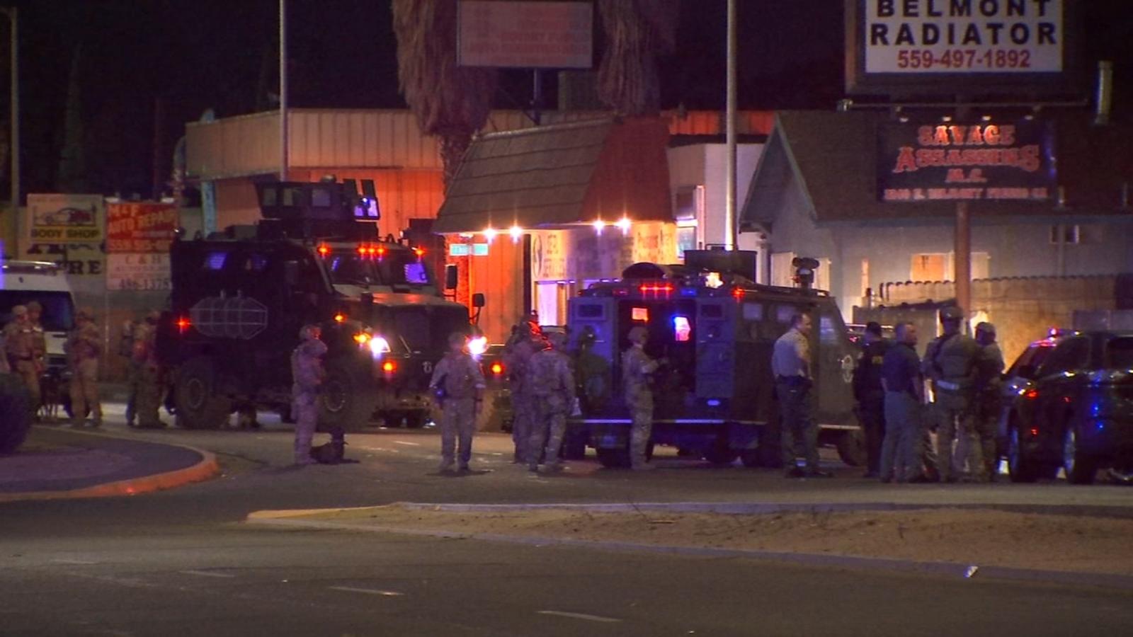 Sheriff's gang unit detains dozens, arrests 8 at central Fresno clubhouse