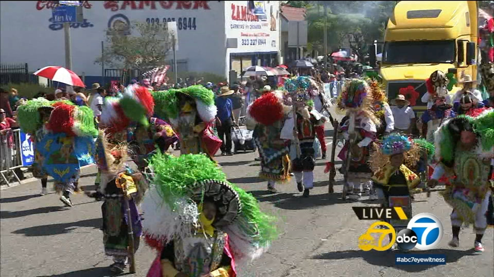 East LA Mexican Independence Day parade boasts vibrant colors and pride of culture