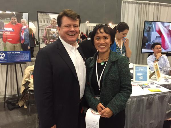 "<div class=""meta image-caption""><div class=""origin-logo origin-image kgo""><span>KGO</span></div><span class=""caption-text"">A #starstruck fan of @MFinney attending the @pbwc. Nice to see a great guy attending a woman's conference. (ABC7 News/Lyanne Melendez)</span></div>"