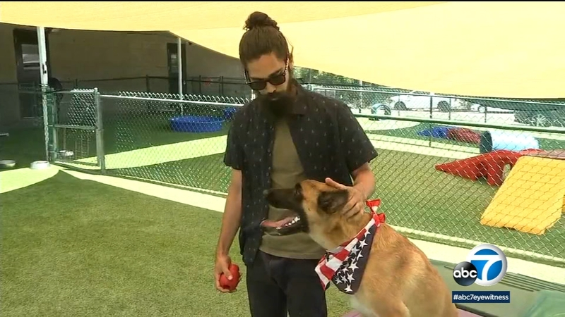 Local charity Rebuilding Warriors pairs veterans with K-9 heroes