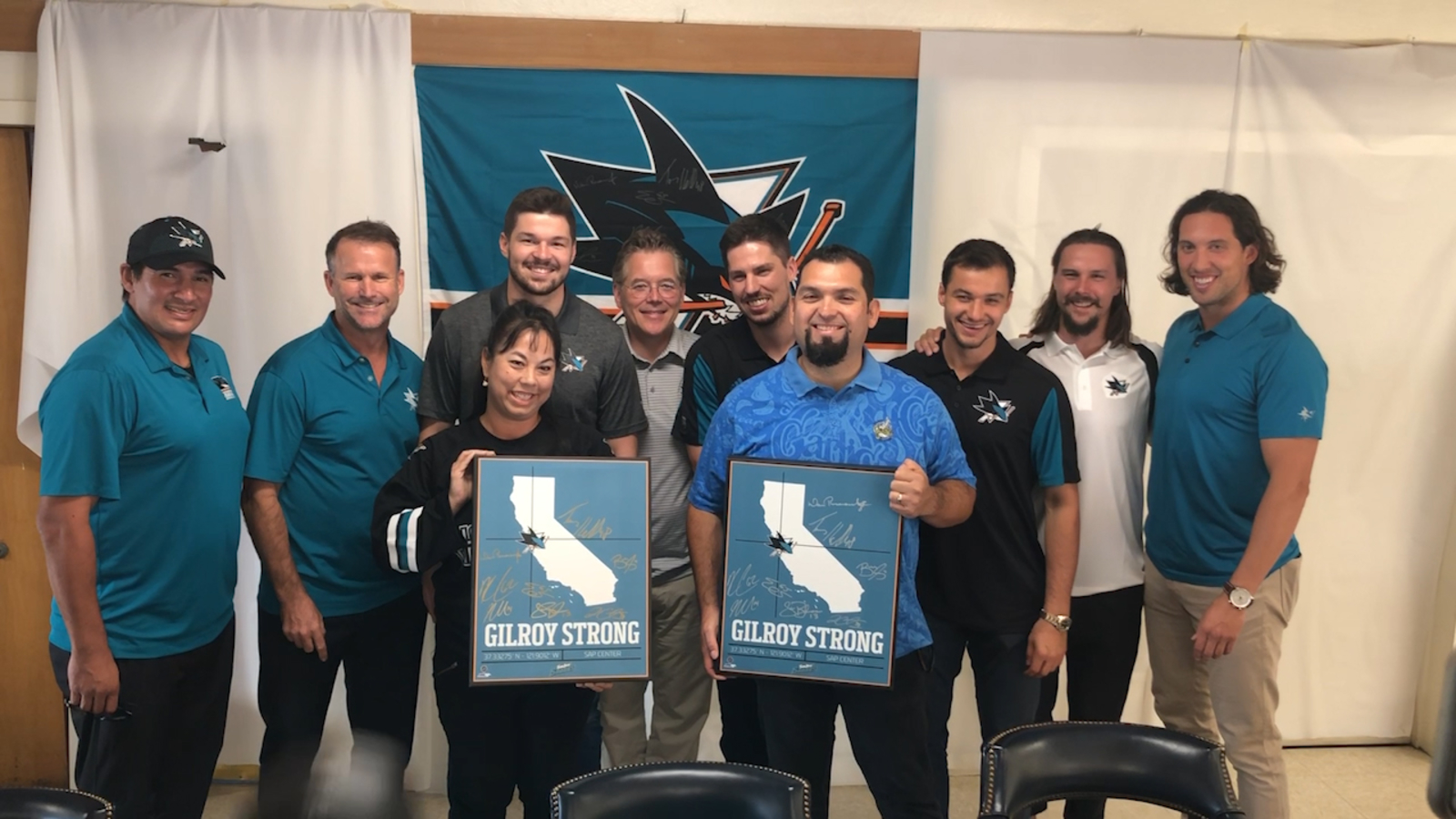 Logan Couture organizes San Jose Sharks autograph session to raise money for Garlic Festival victims