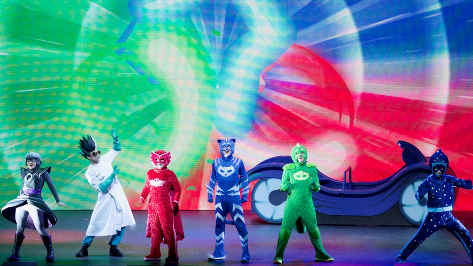 'PJ Masks Live!' coming to the Save Mart Center