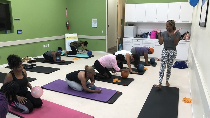 Free Pilates classes in Inglewood at family resource center
