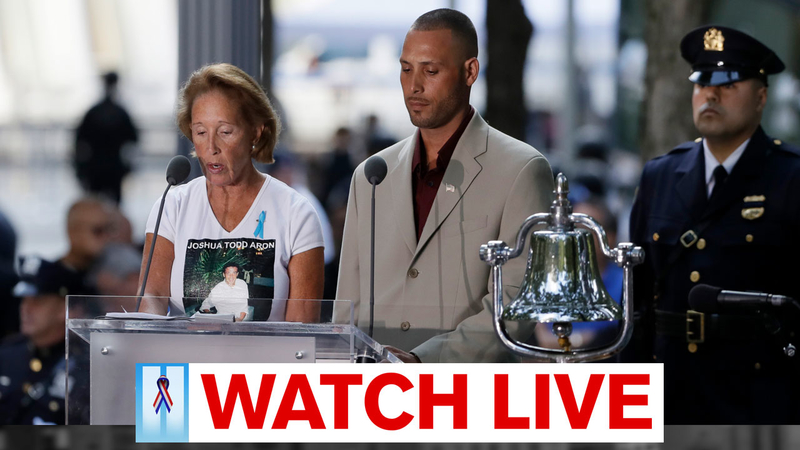 LIVE: US marks 18th anniversary of 9/11 attacks