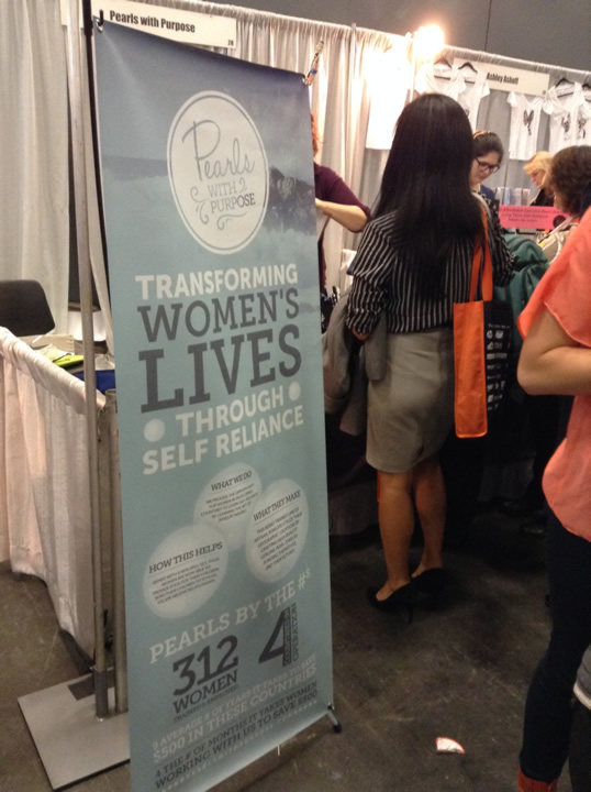 """<div class=""""meta image-caption""""><div class=""""origin-logo origin-image kgo""""><span>KGO</span></div><span class=""""caption-text"""">A booth is seen at the 26th Annual Professional BusinessWomen of California Conference in San Francisco on Tuesday, March 10, 2015.</span></div>"""